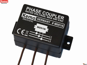 Phasenkoppler für Powerline Produkte M091N Kemo B-Ware / Alte Version