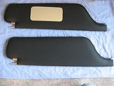 1966-69  impala coupe  sun visors with vanity mirror black dot