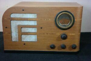 Philco Wood Tube Radio