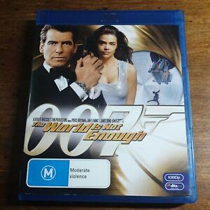 The World is  Not Enough James Bond 007 Pierce Brosnan Blu-Ray LIKE NEW!