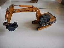 Shinsei Komatsu PC100 Excavator in Orange/Blue on 1:48