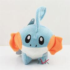 "6"" Cute Pokemon Mudkip Kids Toy Soft Plush Toy Stuffed Doll Toy Birthday Gift"