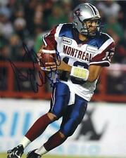 Anthony Calvillo Montreal Alouettes CFL Football signed 8x10 photo proof #3 wCOA