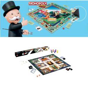 HASBRO Monopoly Junior oder CLUEDO XL Spielmatte 61x61cm Deutsche Version Spiel
