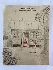 Dem Twelb Day A Christmas Story In Gullah Vintage Negro Book Mary Pinckney Jones