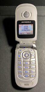 Telefono Cellulare Motorola V171 - Grigio - SimFree - Anno 2004 Perfetto
