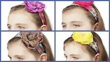 Scunci Headband Floral Chiffon with Flower Accent 4 Styles to Choose