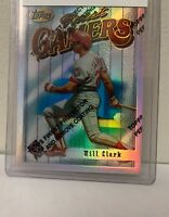 WILL CLARK * 1996 Topps Finest Refractor #62 * Texas Rangers