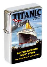 More details for rms titanic flip top lighter