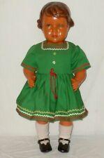 Alte SNF Society Nobel Francaise Puppe Puppen Dolls poupee tete 65cm 30er 40er J