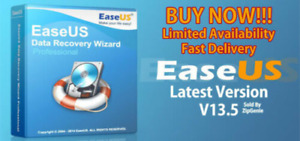 EaseUS DATA RECOVERY WIZARD v13.5 - Unlimited Devices - Lifetime  - NEW
