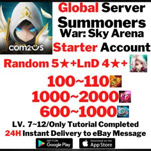 [Global] [Instant] NAT 5 + LnD 4 + Eirgar Summoners War Starter Account