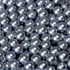 Wholesale1.8mm-14mm No  Hole  plated Acrylic Round Beads DIY Decoration