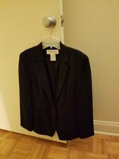 Jones New York 10425745 Long Sleeve Professional Jacket Blazer Black Womens 22W
