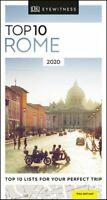 DK Eyewitness Top 10 Rome 2020 by DK Eyewitness 9780241367780   Brand New