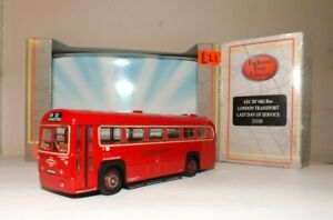 """EFE 23320 LONDON TRANSPORT RF CLASS """"LAST DAY IN SERVICE"""" S/D BUS 4MM 1:76 SCALE"""