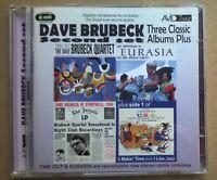 DAVE BRUBECK SET 2 Three Classic Albums Plus 2 CD SET Avid 2010  free UK postage