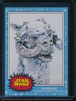 2020 Topps Star Wars Living Set #84 Tauntaun SP Card The Empire Strikes Back