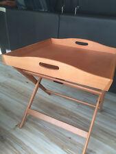 table pliante plateau bois