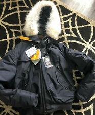 Men's Parajumpers Gobi Coat graphite (ltd edition) JACKET P.J.S Coat SZ L &tags