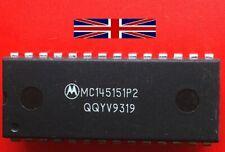 MC145151P2 DIP-28 Integrated Circuit from Motorola