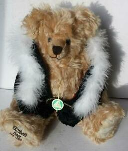 Hermann Teddy Bear Elizabeth Bear Mohair Limited Edition Fully Jointed Tags No92