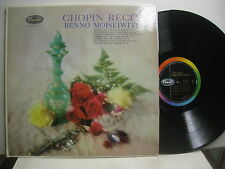 Chopin Recital  (see cover), Moiseiwitsch, piano *Capitol G 7230 mono