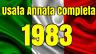 ITALIA REPUBBLICA 1983 ANNATA COMPLETA + ALTO VALORE LIRE 10000  USATA