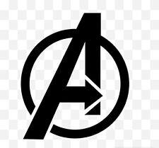 Marvel Avengers Logo Car Laptop Vinyl Graphic Decal Sticker Black