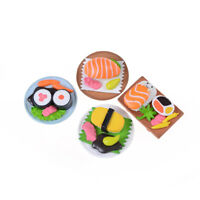 Sushi Bento Lunch For Miniature Dollhouse Handmade Food Home Kitchen Decor №#