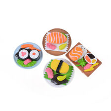 Sushi Bento Lunch For Miniature Dollhouse Handmade Food Home Kitchen Decor as
