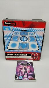 Universal Dance Pad & DDR for Wii, PS2, XBOX & Gamecube DDR Original box