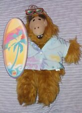 Surfing Alf 1988 Burger King Plush Puppet Vintage w surfboad, sunglasses