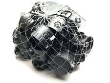 1-200 Unterputzdosen Schalterdosen schwarz Gerätedose 41mm flach D=60mm F-Tronic