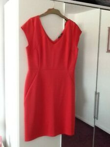 George BNWT Red Size 18 Dress Perfect Condition