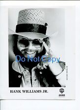 Hank Williams Jr. Country Music Original Press Promotional Photo