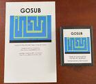 Gosub Atari 2600 Vcs Homebrew Videogame Video Computer System Game Fun