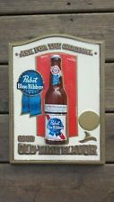 Vintage 3-D Pabst Blue Ribbon Beer Sign - Good Old-Time Flavor - FREE Shipping!!