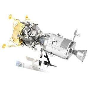 Fascinations Apollo CSM With LM Spacecraft 3D Model Kit Metal Earth MMS168