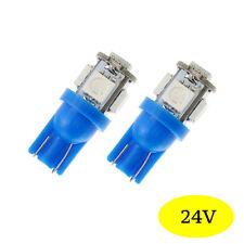 2 ampoules à LED smd W5W / T10 Camion  Poids lourd 24 V Bleu pour  Mercedes