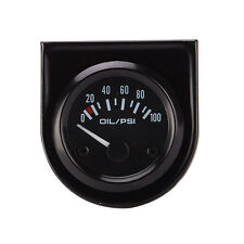 2'' 52mm 0-100PSI Electrical Pointer Oil Pressure Press Meter Gauge Auto Car Use