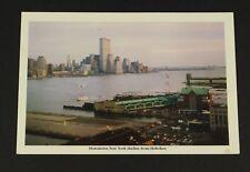 World Trade Center Hoboken Views Contemporary Views Series Post Card No. 5