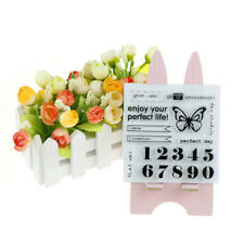 Vogel Tee Schmetterling Brief Design Clear Stamps Scrapbooking FotoalBG