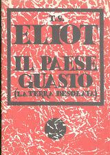 Eliot: Il paese guasto (La terra desolata)  Mille Lire