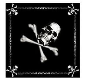 US Army Halstuch Bandana Headwrap Jolly Rogers Skull Bones Totenkopf USMC Navy