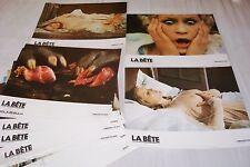 LA BETE  ! WALERIAN BOROWCZYK jeu photos cinema erotique sexy vintage 1975