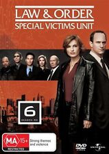 Law And Order - Special Victims Unit : Season 6 (DVD, 2008, 5-Disc Set)