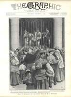 1905 Feeding Starving People At Monte Leone Irish Reform Anglo Japanese Treaty
