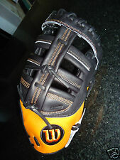 "WILSON A2K 2800 FIRST BASE (1B) MITT / GLOVE A2K0BB32800 - 12"" RH $359.99"