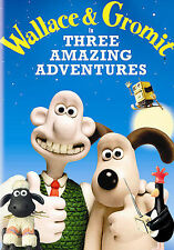 Wallace Gromit In Three Amazing Adventures (Dvd) Nick Park